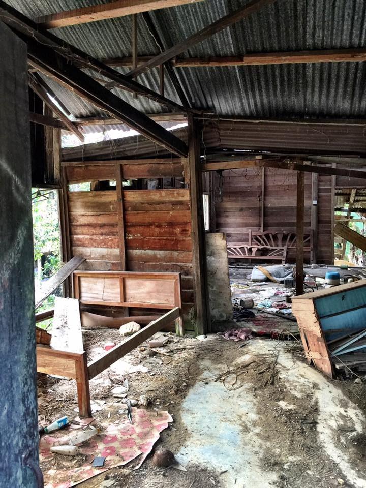 bina Harapan rumah runtuh