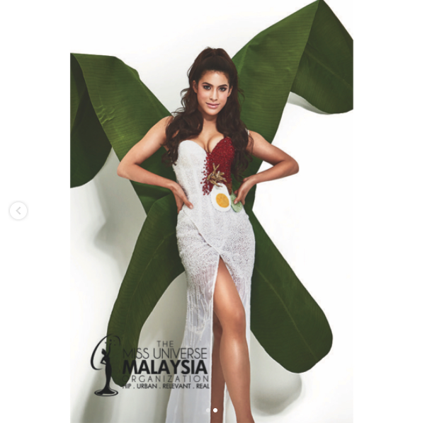 Nasi Lemak Kostum Costume Miss Universe