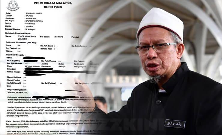Polis Sahkan Terima Laporan Dakwa Dr Zulkifli Langgar PKP | BuzzKini
